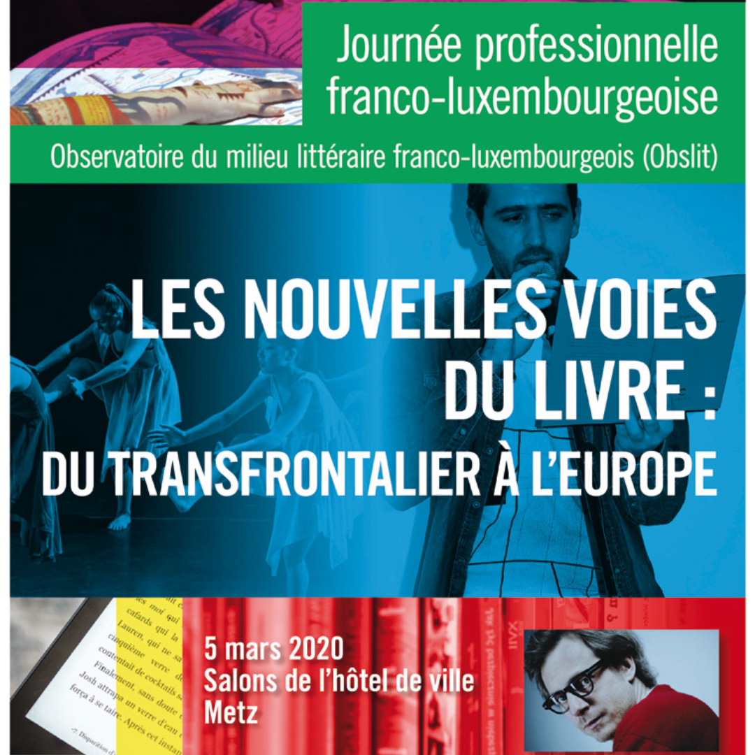 Intervention // Journée professionnelle franco-luxembourgeoise Obslit